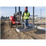 aluguel de plataforma elevatória articulada elétrica Água Rasa