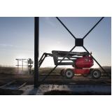 aluguel de plataforma elevatória carga e descarga preço Aclimação
