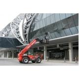empresa de locação de manipulador telescópico skytrak Araçatuba