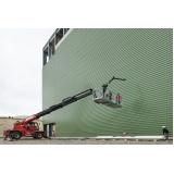 empresa de locação de plataforma elevatória articulada elétrica Ipatinga