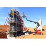 empresa de locação de plataforma elevatória articulada Uberlândia