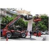 empresa de manipulador telescópico manitou Cidade Jardim