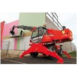 manipulador de carga JLG preço Caieiras
