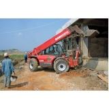 manipulador de carga para locação preço Brooklin