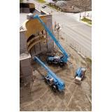 manipulador telescópico para locação preço Alto de Pinheiros