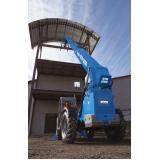 manipulador telescópico para locação Campo Belo