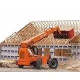 orçamento de manipulador de carga para alugar Casa Verde