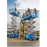 plataforma pantográfica para caminhão São José dos Pinhais